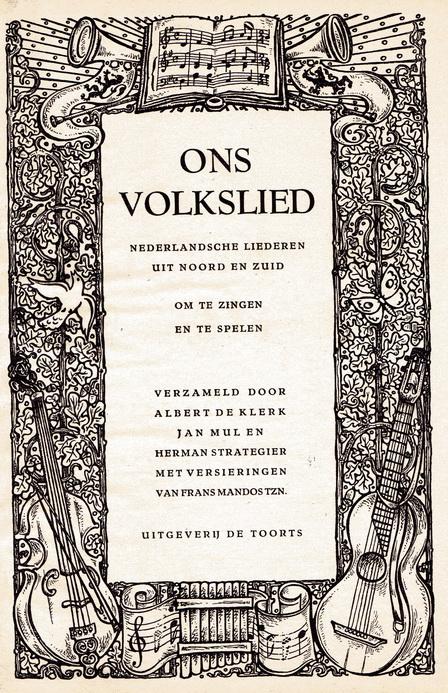 nationale zangbundel roomsch nederland
