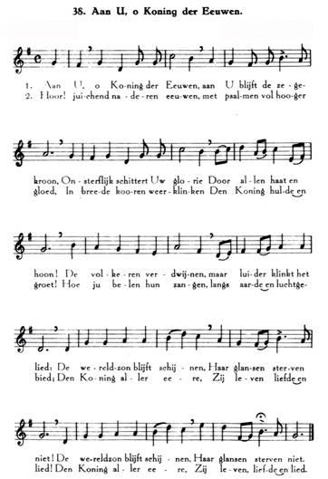 liedje over de koning