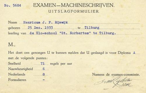 enkele nederlandse examens